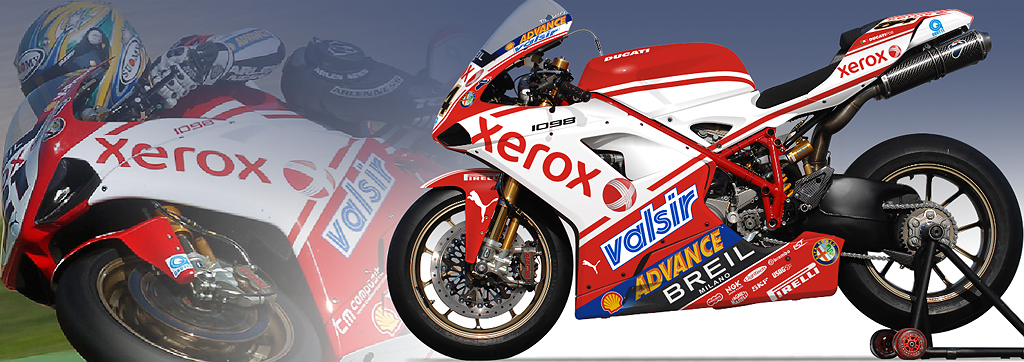 Ducati Xerox World Superbike Team | Design